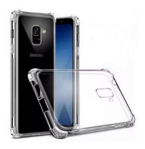 Capa Anti Shock Transparente + Pelicula Vidro 3d Samsung Galaxy J6 2018