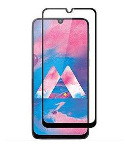 Película De Vidro 3d Para Samsung Galaxy M30 2019 Bordas Pretas