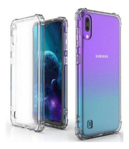 Capa Anti Shock Transparente + Pelicula De Gel 5D Samsung Galaxy A10 2019