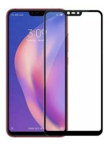 Película Blindada 5D Nano Gel Para Xiaomi Mi 8 Lite Bordas Pretas