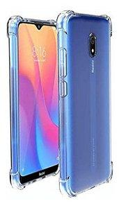 Capa Anti Shock Transparente Para Xiaomi Mi 8A - Bordas Reforçadas