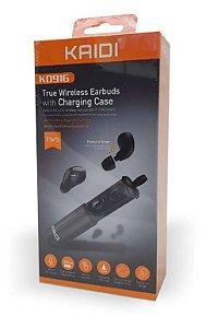 Fone de Ouvido Bluetooth Wireless Sem Fio Kaidi Kd-916