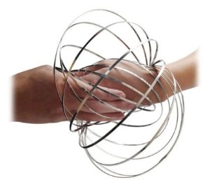 Argola Mágica de Metal Anti Stress Magic Flow Ring