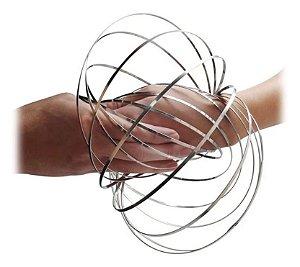 Argola Mágica de Metal Anti Stress Magic Flow Ring