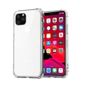 CAPA ANTI SHOCK TRANSPARENTE PARA APPLE IPHONE 12 MINI 5,4 POLEGADAS BORDAS REFORÇADAS