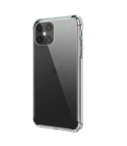CAPA ANTI SHOCK TRANSPARENTE PARA APPLE IPHONE 12 PRO 6,1 POLEGADAS BORDAS REFORÇADAS