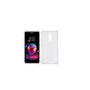 Capa Case Anti Shock Transparente para LG K11 com Bordas Reforçadas