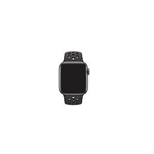 Pulseira Apple Watch de Silicone Preta Esportiva 38/40 MM