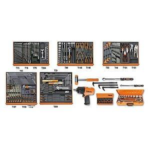 5910VG/3T - Jogo com 202 ferramentas para Reparação Automotiva
