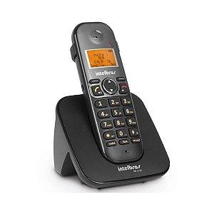 Telefone sem Fio Intelbras com ID e com Saída para Fone de Ouvido TS 5120 - Preto