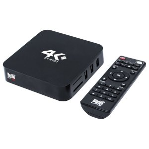 Smart TV Box 4K Android com Wi-Fi BS9700