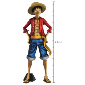 Figure One Piece Grandista Monkey D Luffy Manga Dimensions - Monkey D Luffy Ref.34818/34819