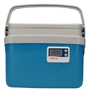 Caixa Térmica 5 Litros EPS Termômetro Max Min