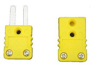 Conector Tipo K - Macho e Fêmea Modelo Mini