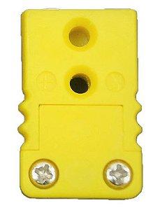 Conector Tipo K - Fêmea Modelo Mini