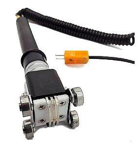 Kit Sensor de Carrinho + Termômetro Digital Tipo K