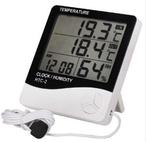 Termohigrômetro HTC II com cabo