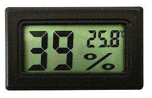 Termohigrômetro digital s/cabo
