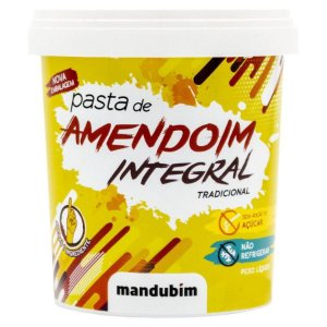 MANDUBIM PASTA DE AMENDOIM INTEGRAL 1,02KG