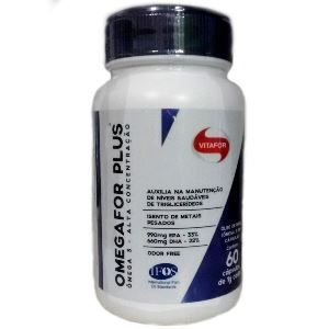 omega for plus vitafor 60 capsulas