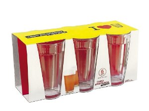 Jogo Copo Americano Long Drink 450ml  C/ 06 unidades