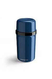 Garrafa Térmica Portátil Fano 250ml Azul Metalizado
