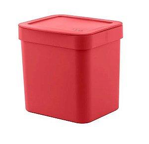 Lixeira Trium 4,7 Litros Vermelho