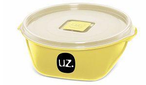 Pote Multiuso Premium 800ml Amarelo Claro Sólido