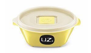 Pote Multiuso Premium 350ml Amarelo Claro Sólido