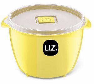 Pote Multiuso Premium 1,5 Litros Amarelo Claro Sólido
