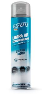 Limpa Ar Condicionado Breeze Carro Novo 300ml