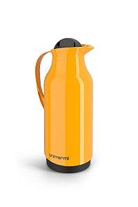 Garrafa Térmica de Mesa Siena 1 Litro Amarela