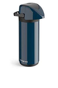 Garrafa Térmica Pressão de Mesa Verona 1 Litro Azul