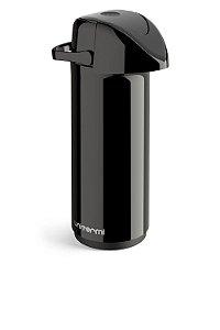 Garrafa Térmica Pressão de Mesa Verona 1 Litro Preta