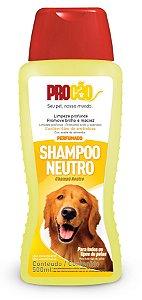 Shampoo Neutro Para Cães E Gatos 500ml - Procão