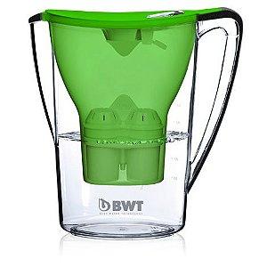 Jarra Purificadora de  Água BWT 2,7LTS Com Adição de Magnésio cor Verde