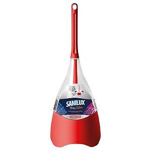 Escova Sanitária Pétala Sanilux Vermelha