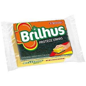 Esponja Brilhus Protege Unhas Pacote com 12 Unidades