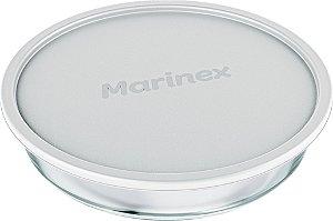 Assadeira Prática Redonda 2,4 Litros C/ Tampa - Marinex