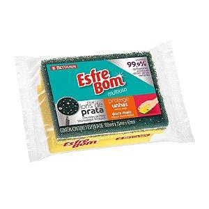 Esponja Esfrebom Protege Unhas Pacote C/ 12 Unidades