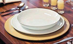 Prato Opaline Blanc Sobremesa 19cm Caixa C/ 24 Unidades - Duralex