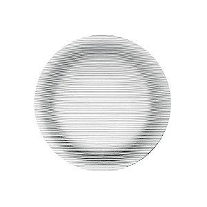 Prato Diamante Raso 23cm Caixa C/ 24 Unidades - Duralex