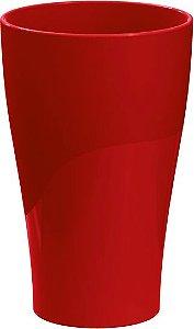 Copo 300ml Vermelho Sólido
