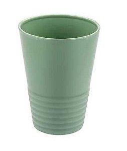 Copo Gomado 300ml PLUS Verde Menta Sólido