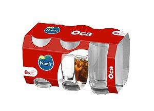 Jogo Copo Oca Long Drink 300ml C/ 06 Unidades