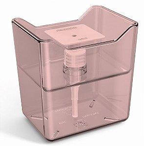 Dispenser Premium Rosa Translúcido Sólido