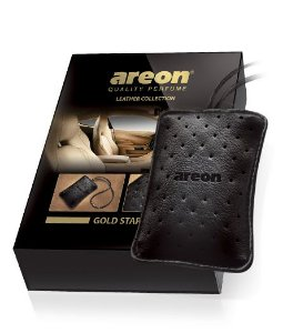 AROMATIZANTE DE COURO GOLD STAR - AREON LEATHER COLLECTION