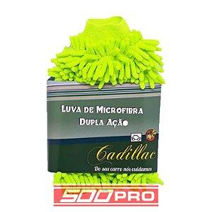 Luva de Microfibra Dupla Ação (Lavagem + Remoção de Insetos) Cadillac