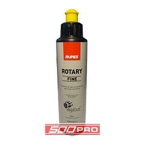 Composto Polidor ROTARY FINE (Lustro) Rotativa Amarelo - Rupes - 250ml