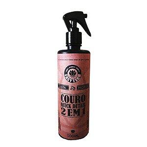 Couro Quick Detail 2 em 1 (Limpa e Hidrata) - EasyTech (500ml)